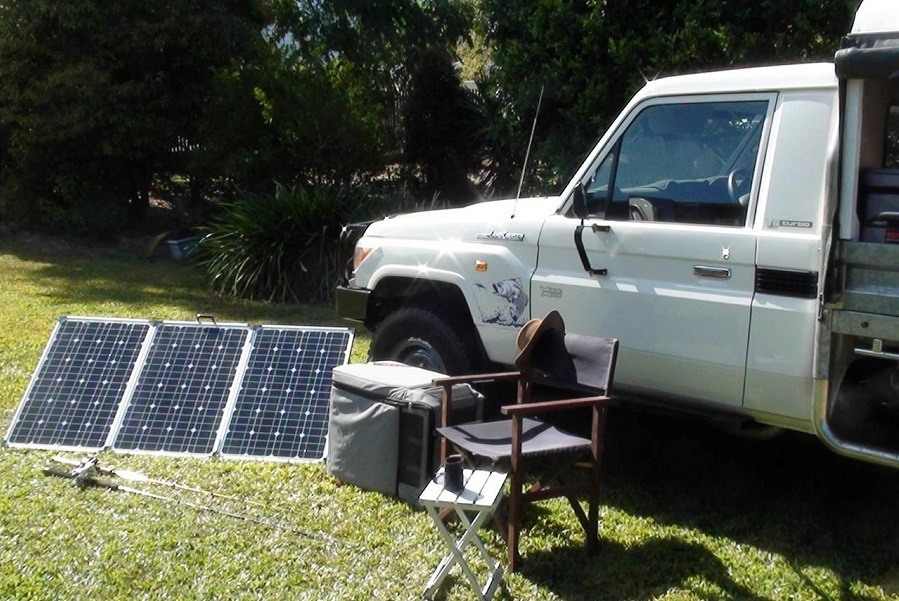 Solar Generator For Camping, Boating and RV Use