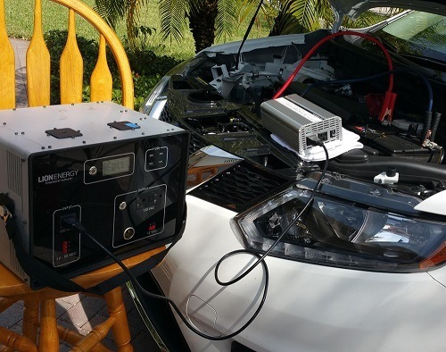 Humless L-1500 Connected To Car