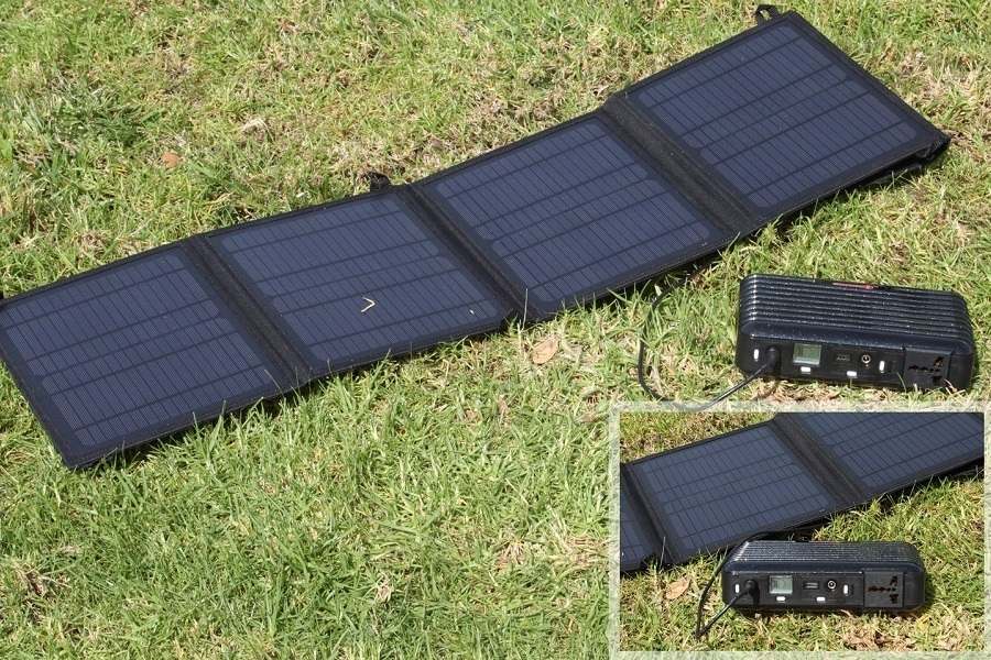 LB1 High Performance PB160 Solar Generator Kit