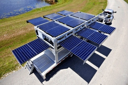 Great Portable Solar Unit