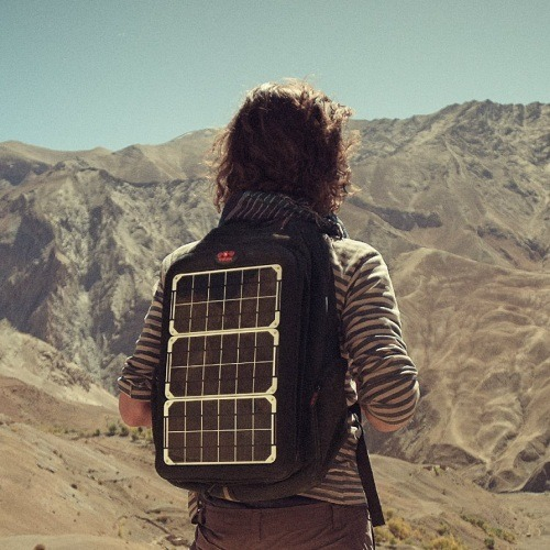 Backpacking The Solar Way