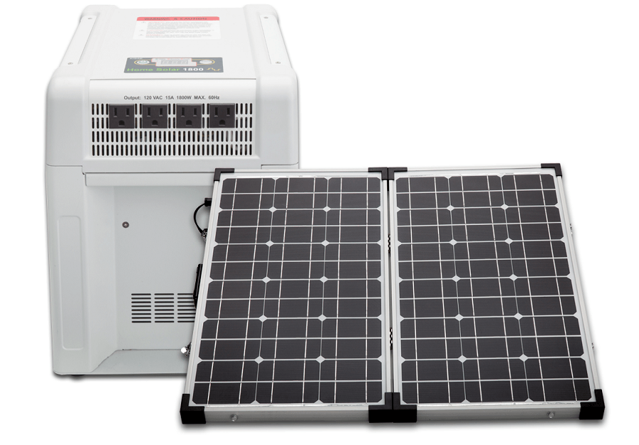KISAE Technology HS1800-60-00 Home Solar Generator