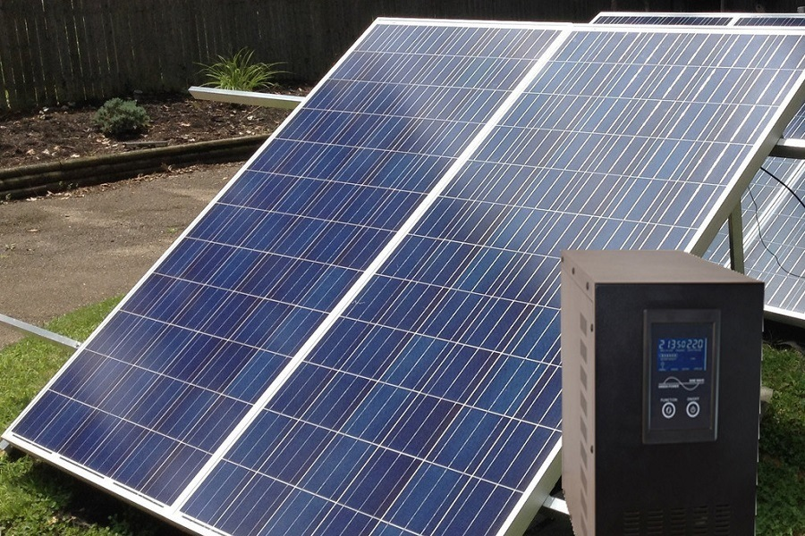 Off Grid Solar Generator Kit