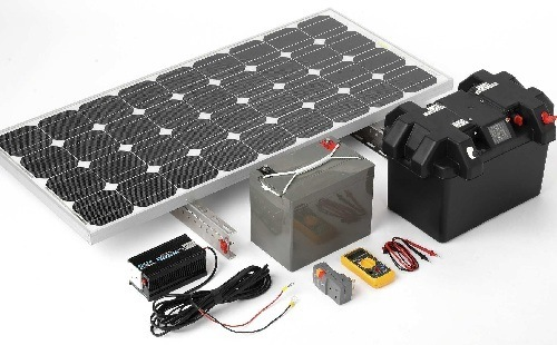 All In One Solar Generator Kit