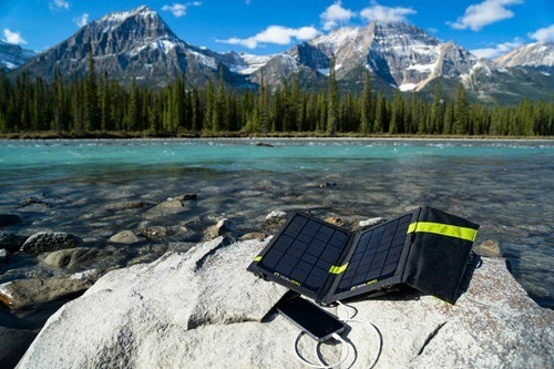 Phone Charging With Solar Panel Charger