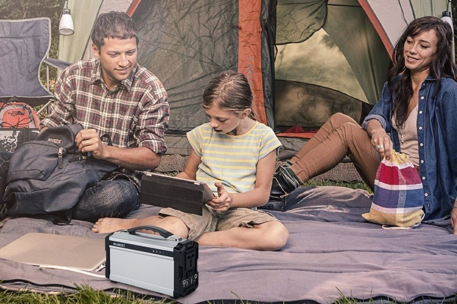 Suaoki Gas-free Quietly Portable Solar Generator