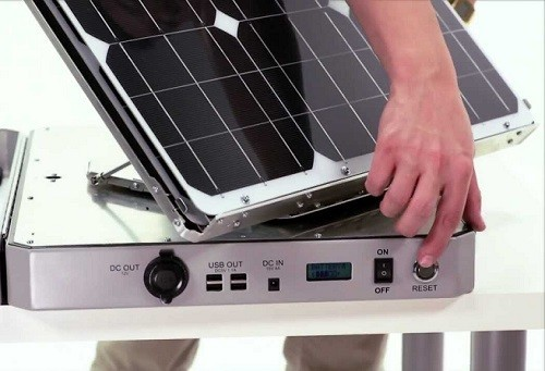 Portable Solar Generator By Aspect Solar
