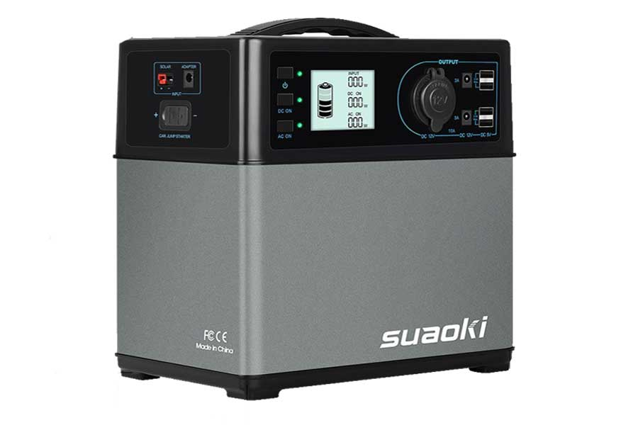 Suaoki 400Wh Solar Generator Review 2a78b185d5