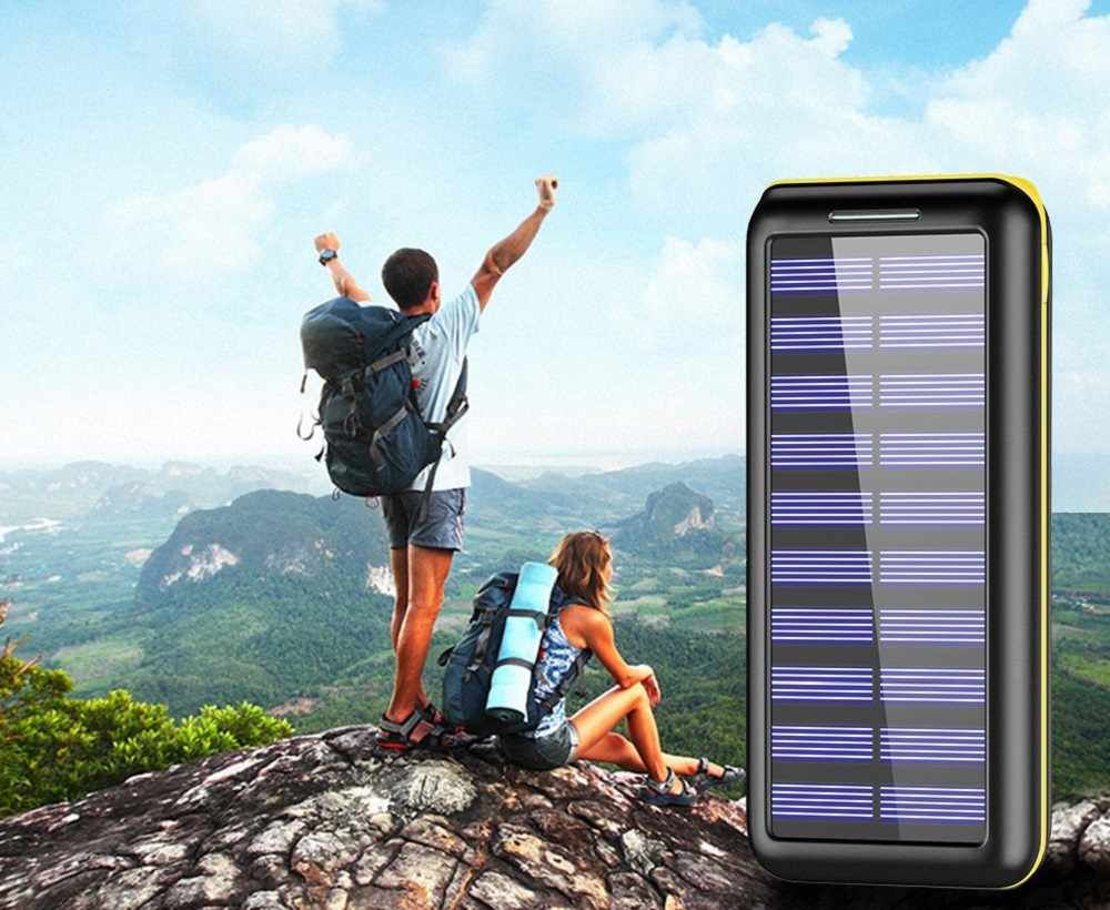 Solar Powered Phone Charger