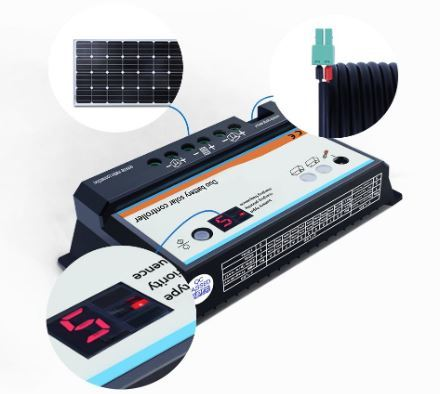 EPEVER Dual Battery Solar Charge Controller