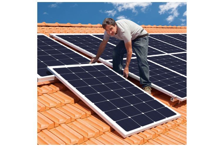 solar panel for a home