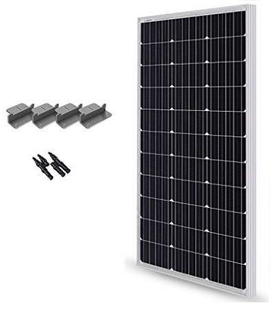 Renogy 100 watt solar panel kit